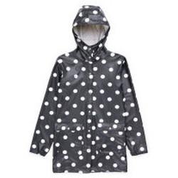 Abbigliamento Uomo giacca a vento Herschel - Giacca Forecast Parca Donna - Black/Polca Dots Multicolore