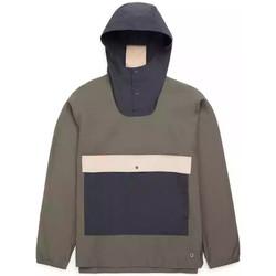 Abbigliamento Uomo giacca a vento Herschel - Giacca Voyage Anorak Uomo - Forest/Black Multicolore