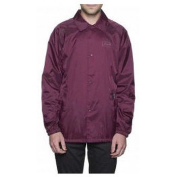 Abbigliamento Uomo Giubbotti Huf - Giacca Bar Logo Coach' s Jacket - Burgundy Viola