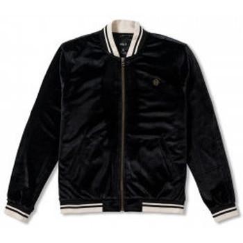 Abbigliamento Uomo Giubbotti Huf - Giacca Wild Cock Bomber Jacket - Black Nero