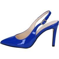 Scarpe Donna Sandali Olga Rubini sandali blu vernice BY285 blu