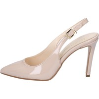 Scarpe Donna Sandali Olga Rubini sandali beige vernice BY286 beige