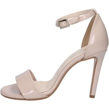 Scarpe Donna Sandali Olga Rubini scarpe donna  sandali beige vernice BY289 beige