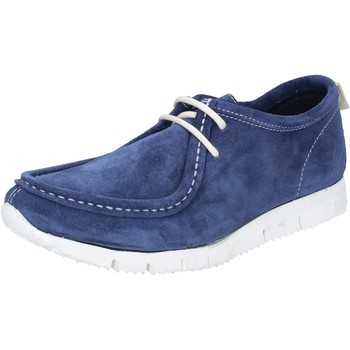 Scarpe Donna Sneakers basse Kep's By Coraf KEP'S sneakers blu camoscio BY463 blu