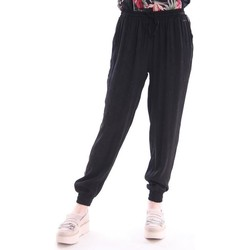 Abbigliamento Donna Pantaloni morbidi / Pantaloni alla zuava Imperfect PANTALONI NERI Black