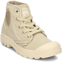 Scarpe Donna Sneakers alte Palladium Pampa HI Giallo