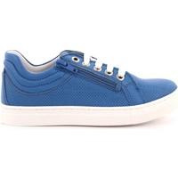 Scarpe Bambino Sneakers basse Melania 410 - ME6086F8E.B Scarpa Allacciata Bambino Azzurro Azzurro