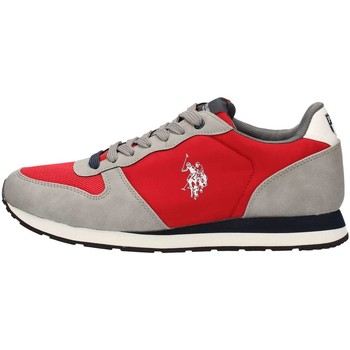 Scarpe Uomo Sneakers basse Polo 4181W7 Sneaker Uomo Grey/red Grey/red