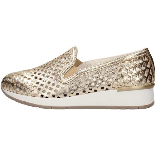 Cinzia Soft IV8199-GPS Slip On Donna Platino Platino - Scarpe Sneakers basse Donna 69,00