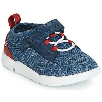 Scarpe Bambino Sneakers basse Clarks Tri Hero Blu