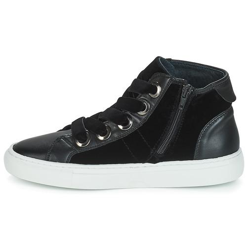 Zally 7250 Pataugas Alte Consegna Gratuita Donna Scarpe Nero Sneakers mNn0w8