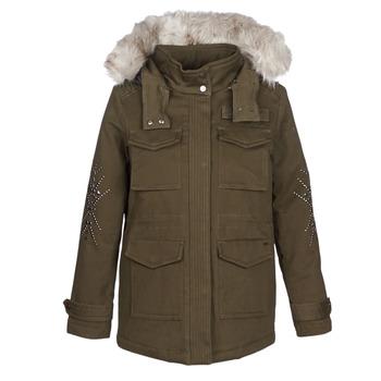 Abbigliamento Donna Parka Ikks BLEEZ Kaki