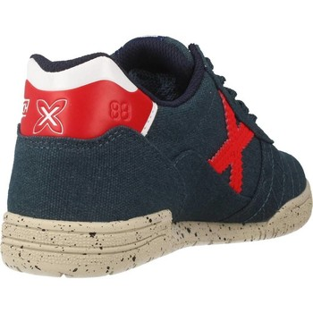 Scarpe Bambino Sneakers basse Munich Fashion G 3 KID CANVAS Blu