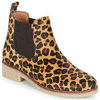 Scarpe Donna Stivaletti Bensimon BOOTS CREPE Leopard
