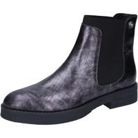 Scarpe Donna Stivaletti Liu Jo scarpe donna  stivaletti grigio pelle BY589 Grigio