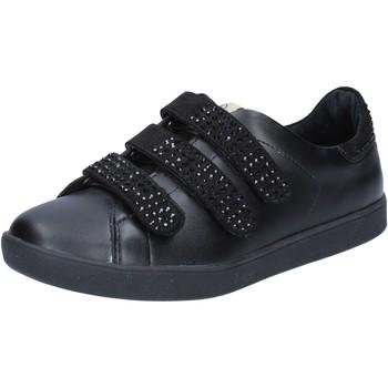 Scarpe Donna Sneakers basse Liu Jo sneakers nero pelle camoscio BY639 Nero 74bef3fe1b8