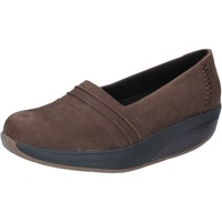 Scarpe Donna Mocassini Mbt scarpe donna  slip on mocassini marrone nabuk performance BY686 marrone