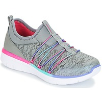 Scarpe Bambina Fitness / Training Skechers SYNERGY 2.0 Grigio