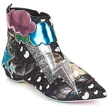 Scarpe Donna Stivaletti Irregular Choice Electric boots Black / Silver