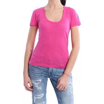 Abbigliamento Donna T-shirt maniche corte Moncler T-SHIRT FUCSIA Pink