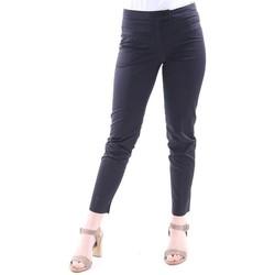 Abbigliamento Donna Pantaloni Seventy PANTALONI NERO IN COTONE MODELLO CAPRI Black