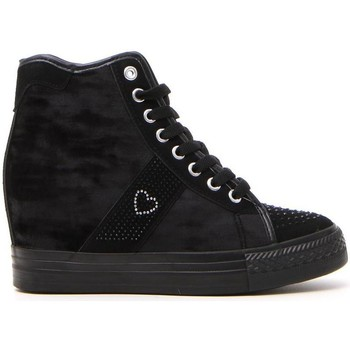 Scarpe Donna Sneakers alte Sweet Years 021 Nero