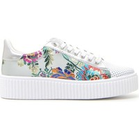 Scarpe Donna Sneakers basse Cafe' Cost 50311 Bianco