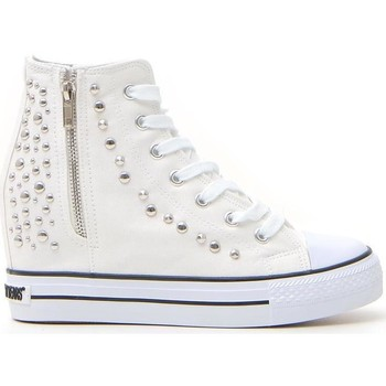 Scarpe Donna Sneakers alte Sweet Years 231 Bianco