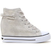 Scarpe Donna Sneakers alte Sweet Years 230 Argento