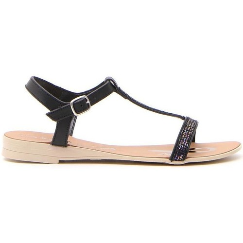 Fun Beach 2560 Nero - Scarpe Sandali Donna 20,00