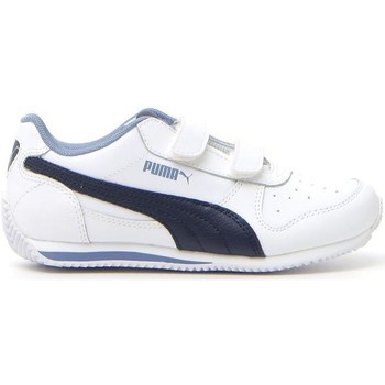 Scarpe Sneakers basse Puma FIELDSPRINT L V PS Blu