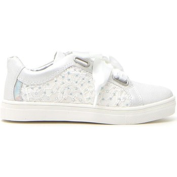 Scarpe Bambina Sneakers basse Syssy 613402 Bianco