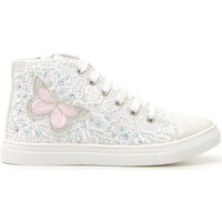 Scarpe Bambina Sneakers alte Syssy 613182 Bianco