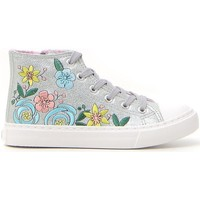 Scarpe Bambina Sneakers alte Syssy 636082 Argento