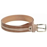 Accessori Uomo Cinture Made In Italy CINTURA UOMO  1259 MARRONE Marrone
