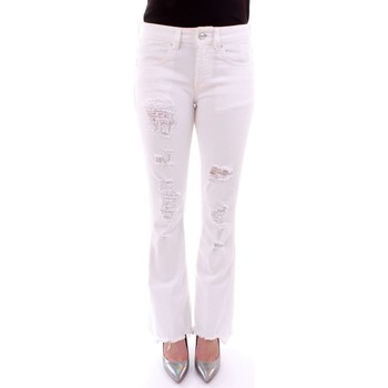 Abbigliamento Donna Jeans bootcut Dond Up DP297 BS009 BIANCO