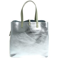 Borse Donna Tote bag / Borsa shopping Manila Grace MANILA GRACE BORSA SHOPPING DONNA P8WW01323MD491          ARGENTO