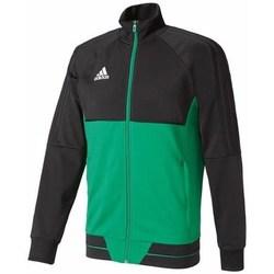 Abbigliamento Uomo Felpe adidas Originals TIRO17 Pes Jkt Verde