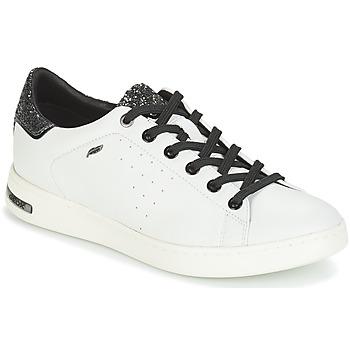 Scarpe Donna Sneakers basse Geox JAYSEN Bianco / Argento