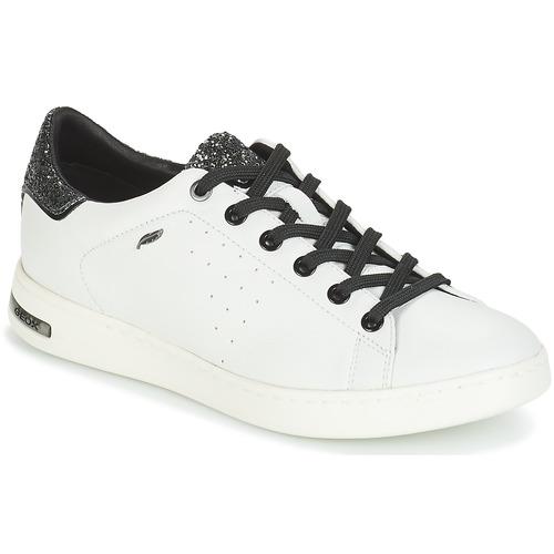 BiancoArgento Donna Sneakers Geox Basse Jaysen Consegna Scarpe 10000 Gratuita wNX80nZOkP
