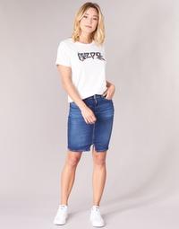 Abbigliamento Donna Gonne Pepe jeans TAYLOR Blu / Medium