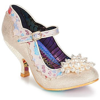 Scarpe Donna Décolleté Irregular Choice Shoesbury Crema