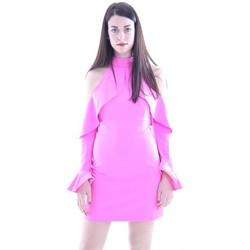 Abbigliamento Donna Giacche Forever Unique MINI ABITO  CON VOLANT Pink