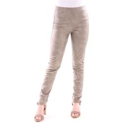 Abbigliamento Donna Pantaloni Absolut PANTALONE COLOR ORO MODELLO LEGGINGS Gold