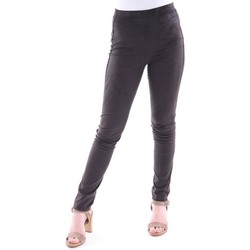 Abbigliamento Donna Pantaloni Absolut PANTALONE DAINO NERO MODELLO LEGGINGS Black