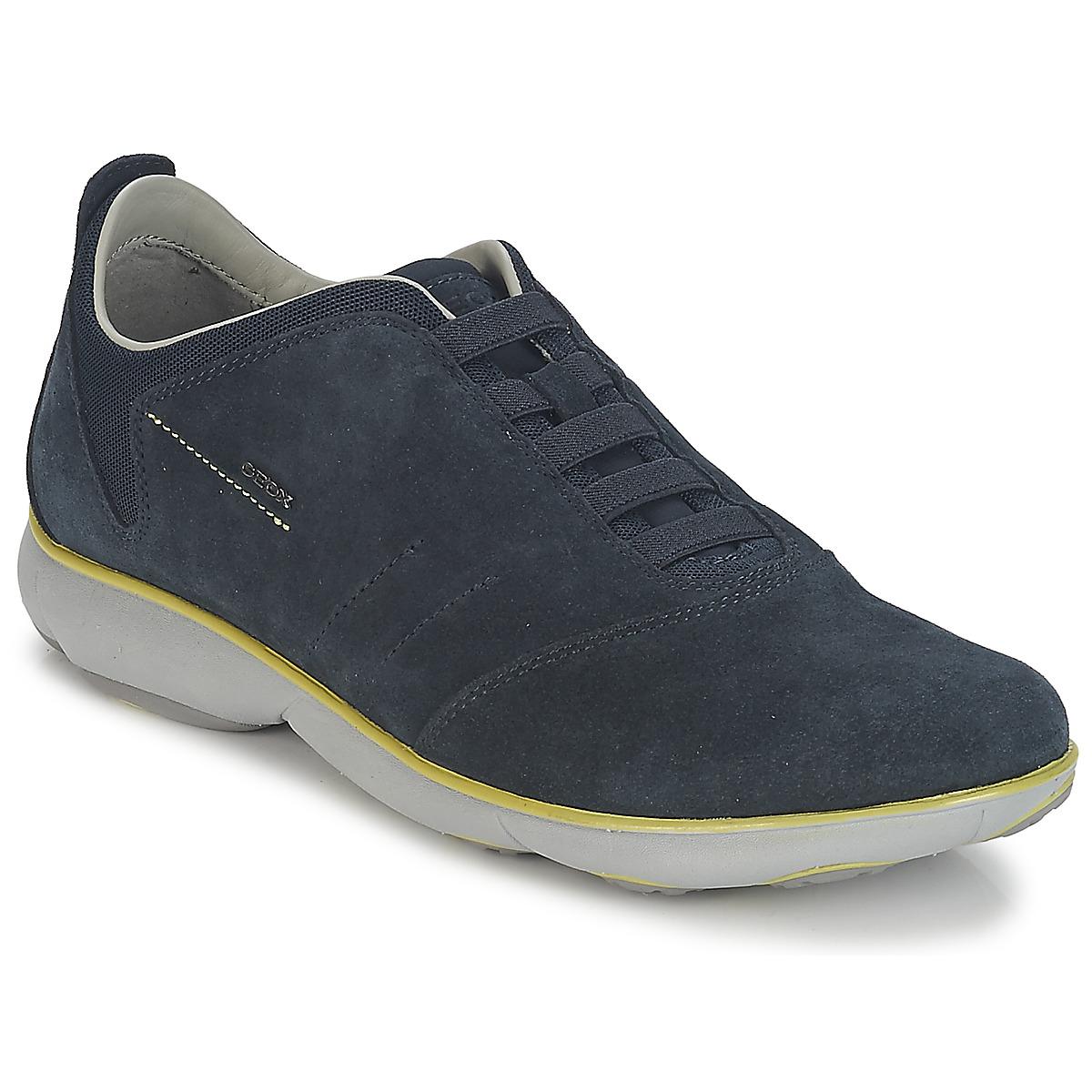 Geox NEBULA B Marine - Consegna gratuita con Spartoo.it ! - Scarpe Sneakers  basse Uomo 121 122efccf179