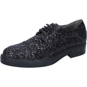 Scarpe Donna Classiche basse Janet&Janet scarpe donna classiche nero glitter BY753 Nero