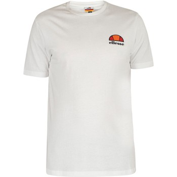 Abbigliamento Uomo T-shirt maniche corte Ellesse Uomo T-Shirt di Canaletto, Bianca bianca