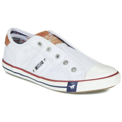 Mustang NAJERILLA Bianco  Scarpe Sneakers basse Donna 38,30