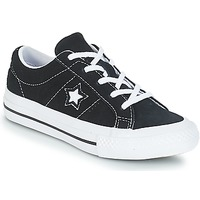 Scarpe Unisex bambino Sneakers basse Converse ONE STAR OX Black / White